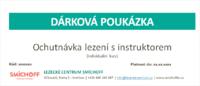 Dárková poukázka - Ochutnávka lezení s instruktorem pro jednu osobu v anglickém jazyce