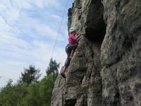 Letní lezecký tábor v Tisé