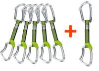 Expresky Climbing Technology Lime Special set 6 ks stříbrné
