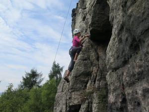 Letní lezecký tábor v Tisé - 1