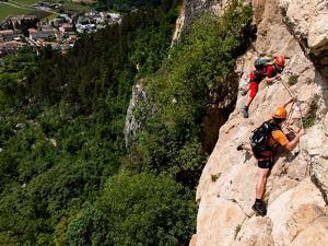 Kurz lezení a via ferrat u Lago di Garda (Arco) - 1
