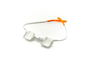 Brýle na jištění CU at the wall orange