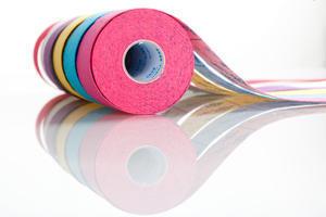 tape BB kineziotape 5x5cm, Žlutá - 1