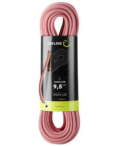 Lano Edelrid Eagle lite 9,5 mm 60 m red - 1