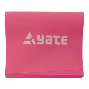Posilovací guma Yate Fit Band 2 m růžový (středně tuhý) - 1