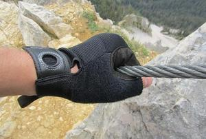 Rukavice Black Diamond Crag half-finger, L - 2
