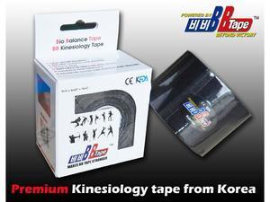 tape BB kineziotape 5x5cm, Černá - 2
