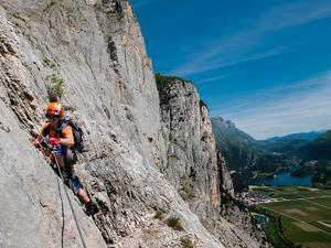 Kurz lezení a via ferrat u Lago di Garda (Arco) - 3