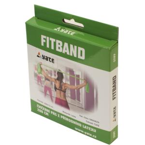 Posilovací guma Yate Fit Band 2 m zelený (tuhý) - 3