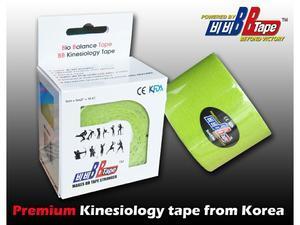 tape BB kineziotape 5x5cm, Černá - 3