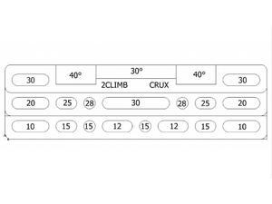 Posilovací deska 2Climb Crux - 4