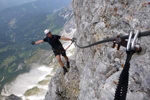 Superferratový výstup na Dachstein - 4