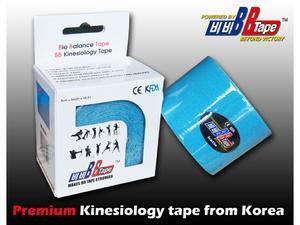 tape BB kineziotape 5x5cm, Černá - 5