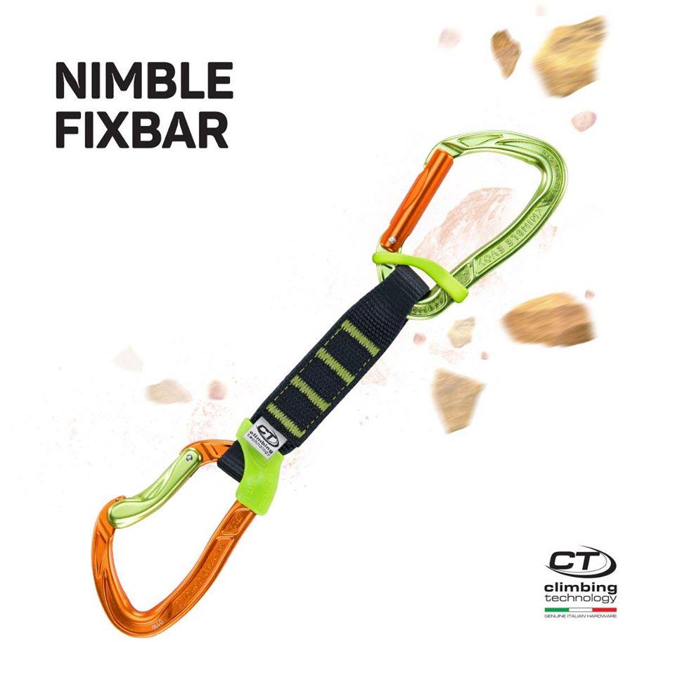 Expreska Climbing Technology Nimble Fixbar set NY PRO 17 cm