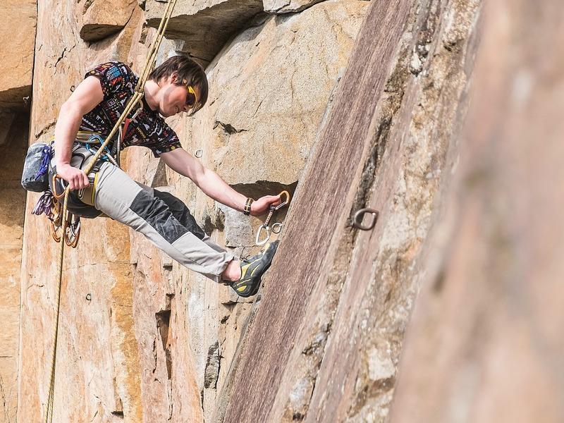 """Víkendový kurz skalního lezení - """"Jura"""""""