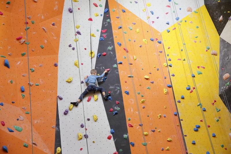 Příměstský lezecký tábor 1 den, 7.8.2017