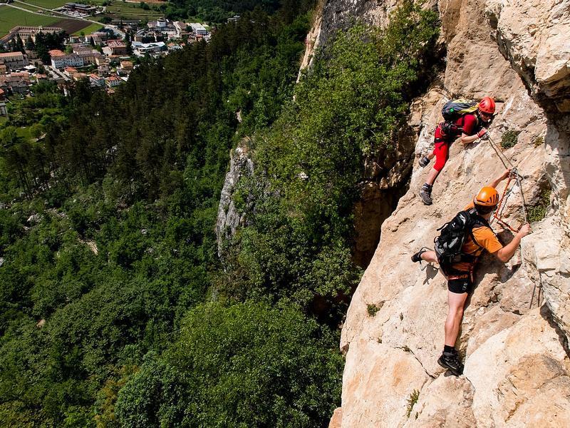 Kurz lezení a via ferrat u Lago di Garda (Arco)