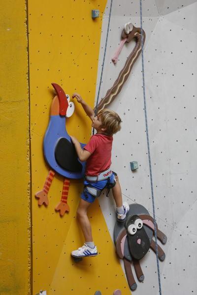 Příměstský lezecký tábor 1 den, 28. 10. 2016