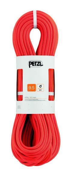 lano PETZL Arial 9,5 mm, 60m, orange