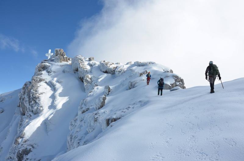 Vysokohorský výstup na Dachstein